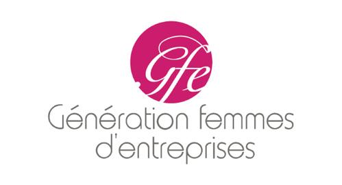 logo géneration femmes d'entreprises
